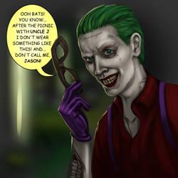 Jason Todd is the Joker