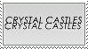 Crystal Castles stamp by epidemic-freakhound