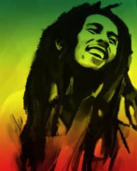 One Love - Bob Marley by yorkey-sa