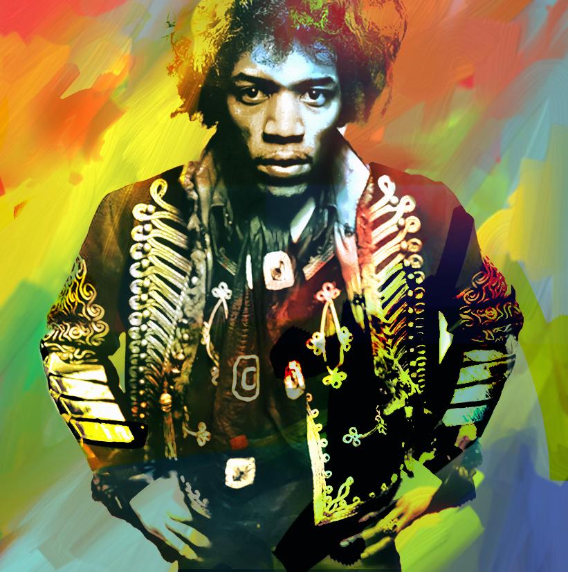 Voodoo Child - Jimi Hendrix by yorkey-sa