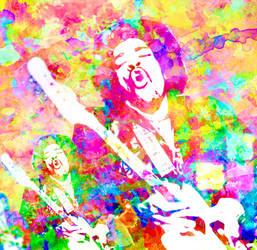 Cosmic Colours of Voodoo Child