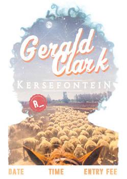 Gerald Clark poster