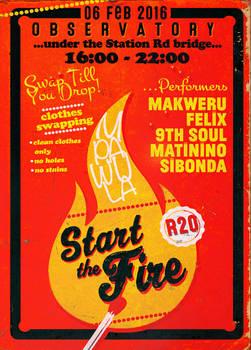 Mpawula: Start The Fire poster