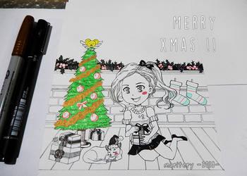 :: Merry Christmas !! :: 2018 by maritery-san