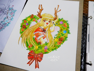 :: Chii :: Christmas 2018 by maritery-san