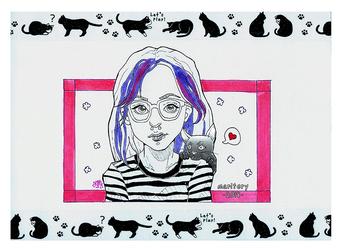 :: Portrait :: Anime style (1) by maritery-san