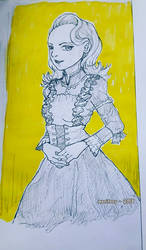 :: Sketch :: Period costume by maritery-san