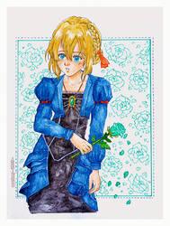 :: Violet Evergarden :: Watercolour by maritery-san