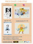 ::Price Chart:: Chibis by maritery-san