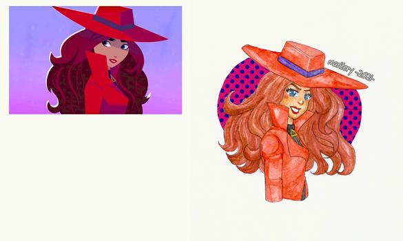 :: Carmen Sandiego :: Fan Art