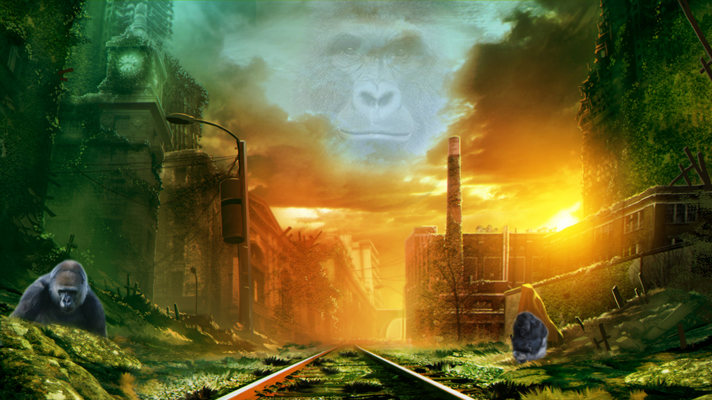 Edgy Harambe Meme by Yesche