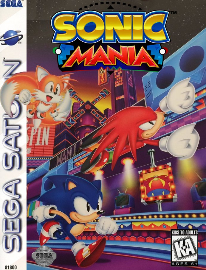 Sonic Mania US Sega Saturn Fan art by Azel98 on DeviantArt