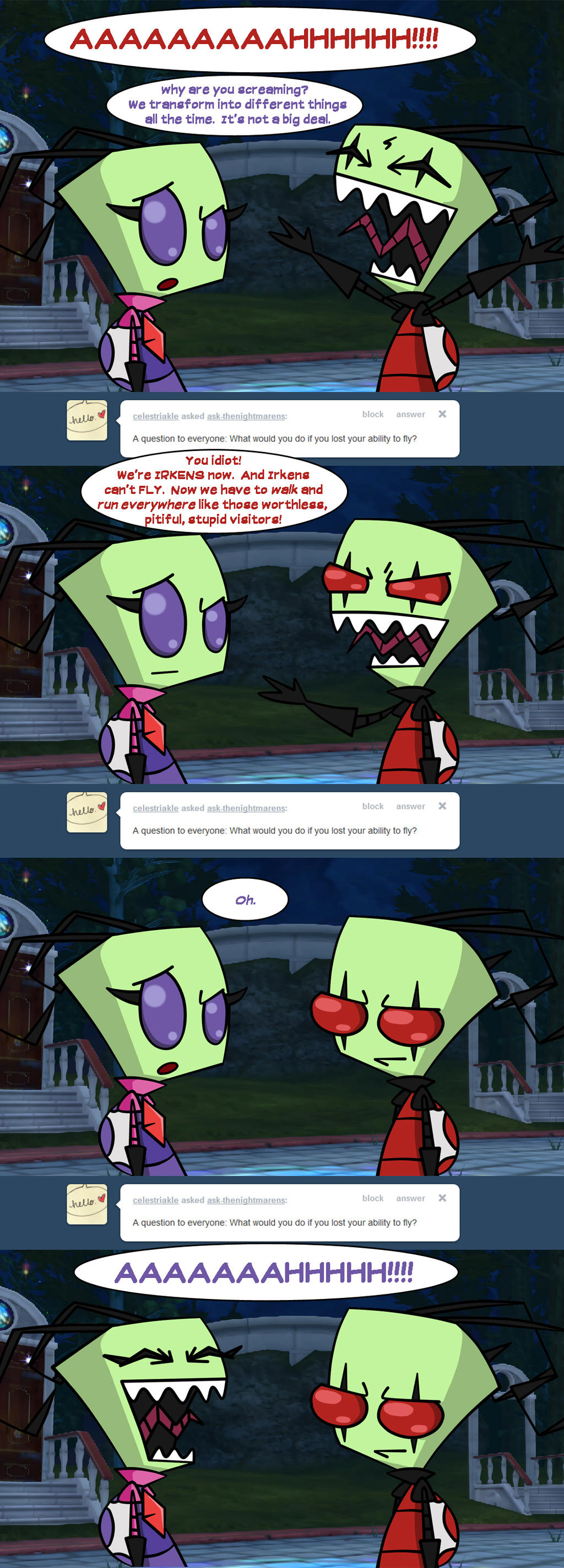 Ask the Nightmarens: 109