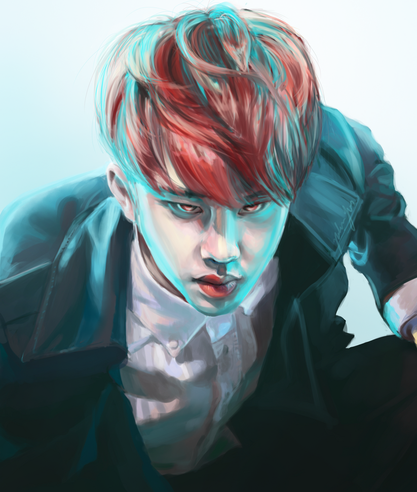 Kyungsoo | Untitled by Julia-Yes