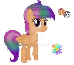 MLP Ship Commission Rainbow Daisy