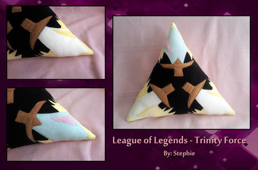 League of Legends - Trinity Force Pillow