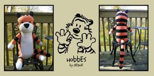 Hobbes Plush Ver 2 by ValkyriaCreations