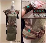 Dryad Soraka cosplay outfit WIP