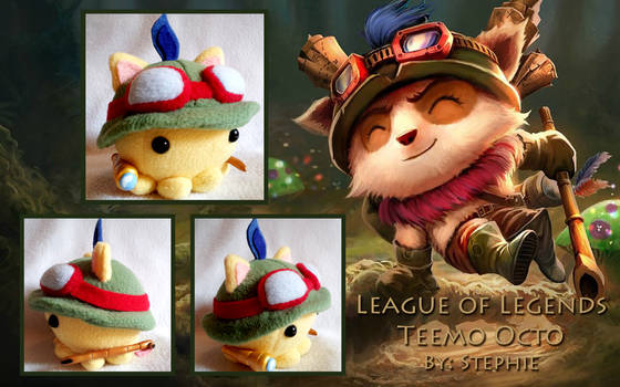 League of Legends Teemo Octo Plush