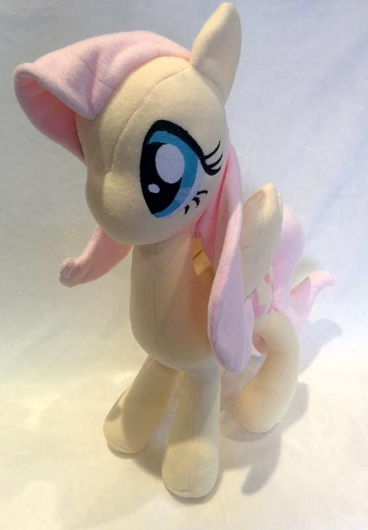 My Little Pony - Fluttershy Plush by ValkyriaCreations