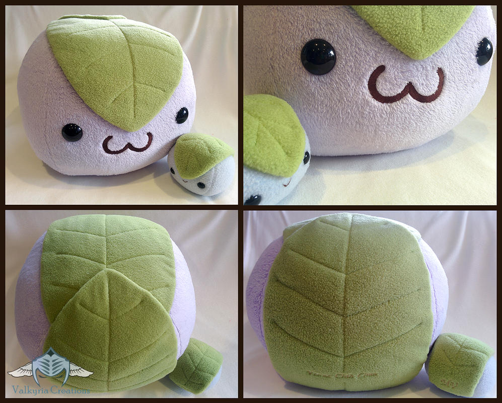Mochi Dessert rice ball plushies by ValkyriaCreations