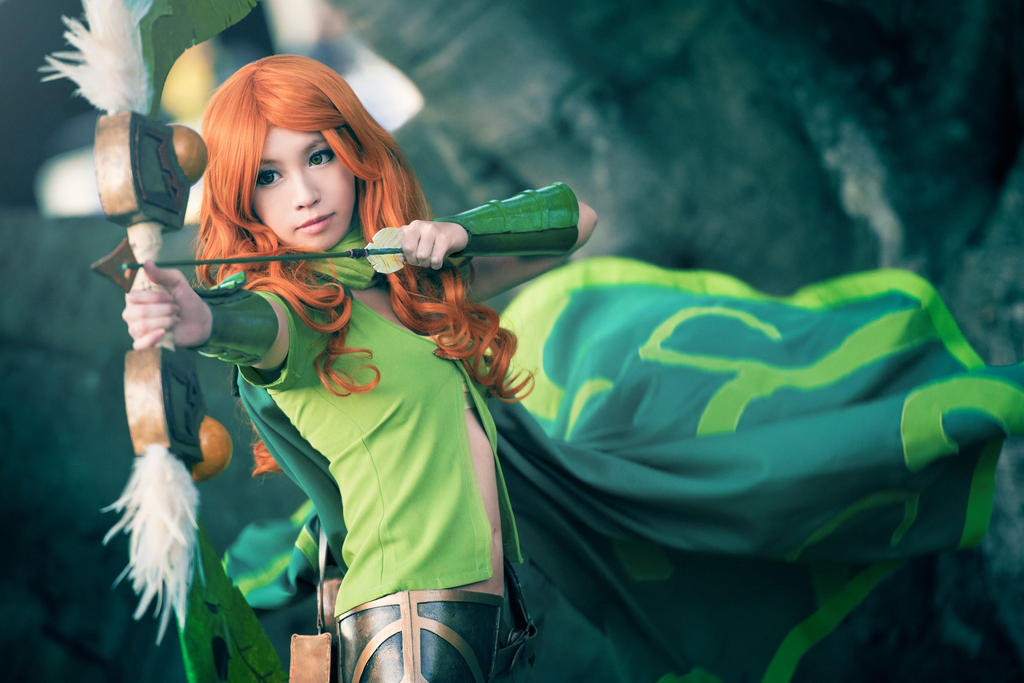 Windranger at your service! by ValkyriaCreations