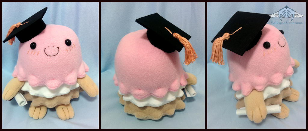 Custom Napoli Facebook plushie by ValkyriaCreations