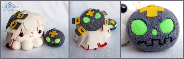 Guilty Gear Xrd - Jack O Valentine Octopus Plushie by ValkyriaCreations