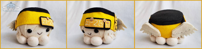 Guilty Gear Xrd - Millia Rage Octopus Plushie by ValkyriaCreations