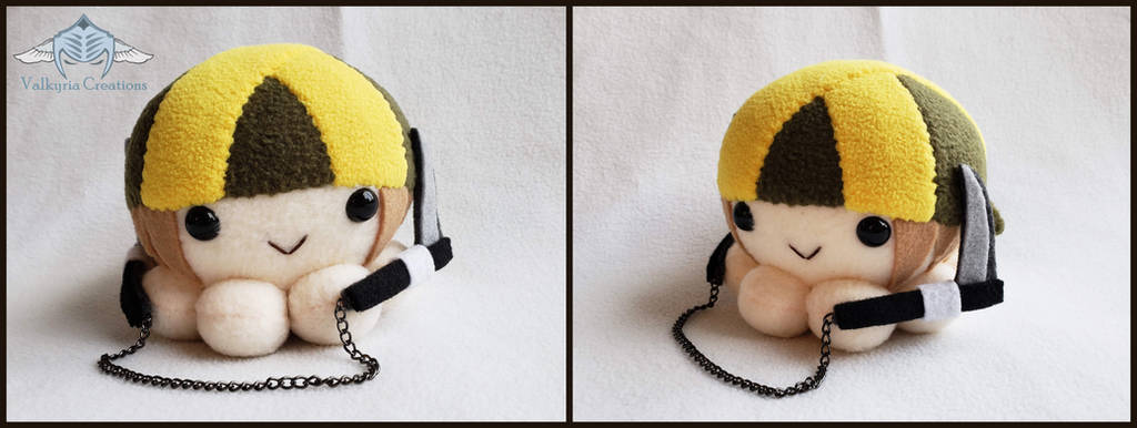 Guilty Gear Xrd - Axl Low 2 Octopus Plushie by ValkyriaCreations