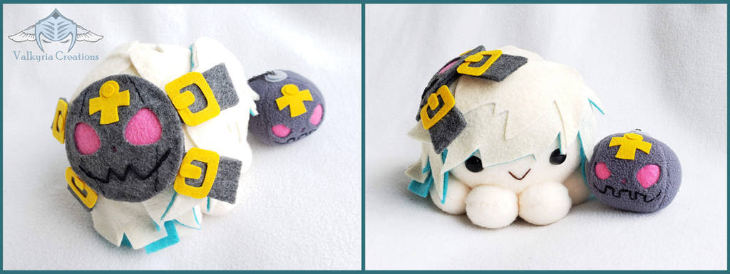 Guilty Gear Xrd - Jack O 2 Octopus Plushie by ValkyriaCreations
