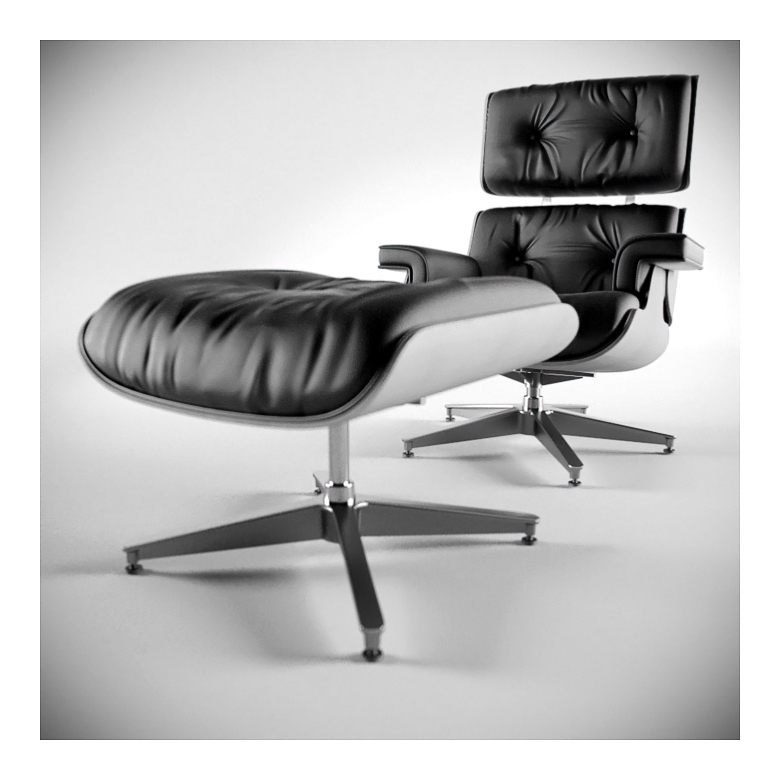 eames lounge chair by apixx on deviantart. Black Bedroom Furniture Sets. Home Design Ideas
