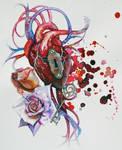 hearts keys and locks