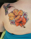 The Bird and the Hibiscus
