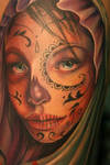 Day of the Dead Girl Detail