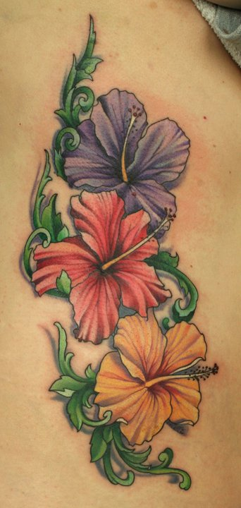 6b9fe37143478 Hibiscus Flower Tattoo by Phedre1985 on DeviantArt