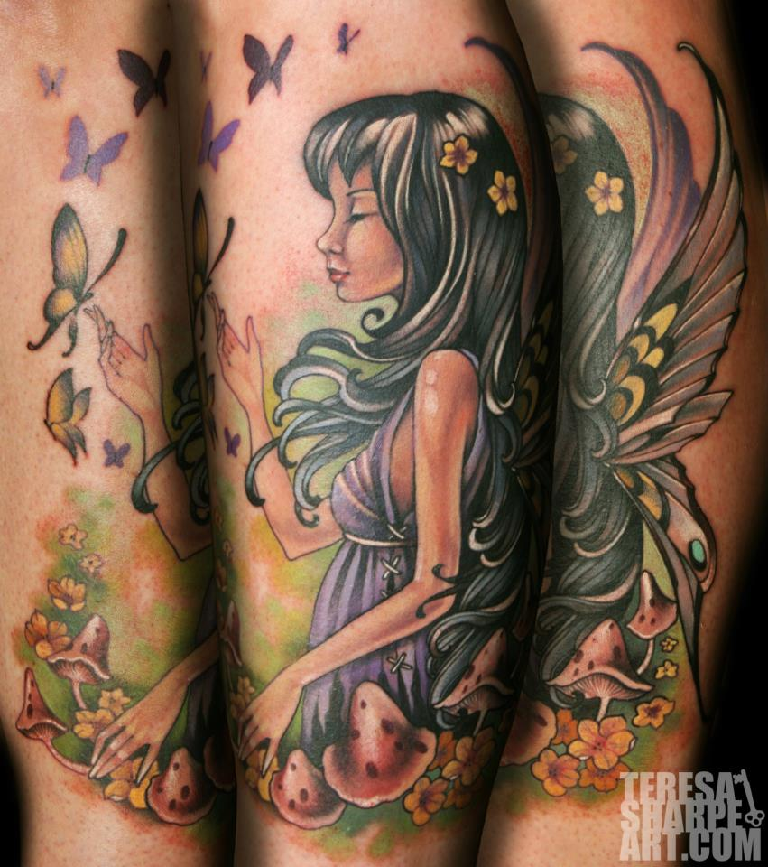 I do believe in fairies by phedre1985 on deviantart for Tattoo shops in fort wayne