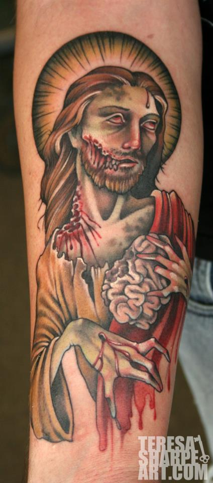 Zombie Jesus by Phedre1985