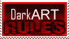 Dark Art Stamp by leftinsideyourheart