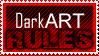Dark Art Stamp by leftinsideyourheart