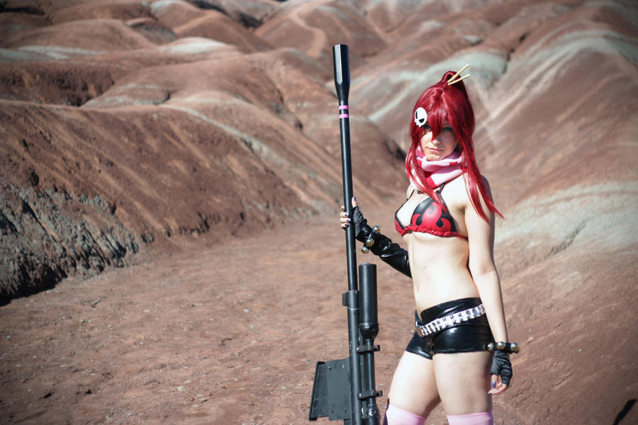At the surface - Gurren Lagann by tenleid