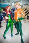 Atlantean Royalty   Aquaman and Mera