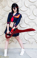 Ryuko Matoi - Kill La Kill by tenleid