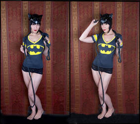 Selina Kyle - Bat Shirt