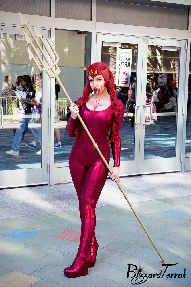 Red Lantern Mera by tenleid