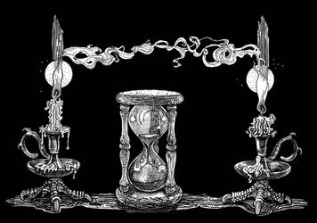 The hourglass.