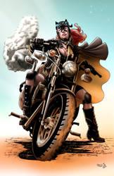 Steampunk Batgirl by sambis
