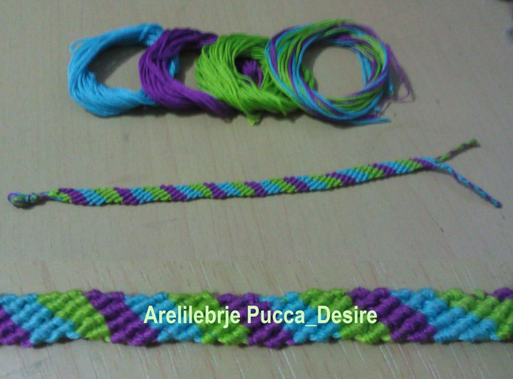friendship bracelet by puccadesire