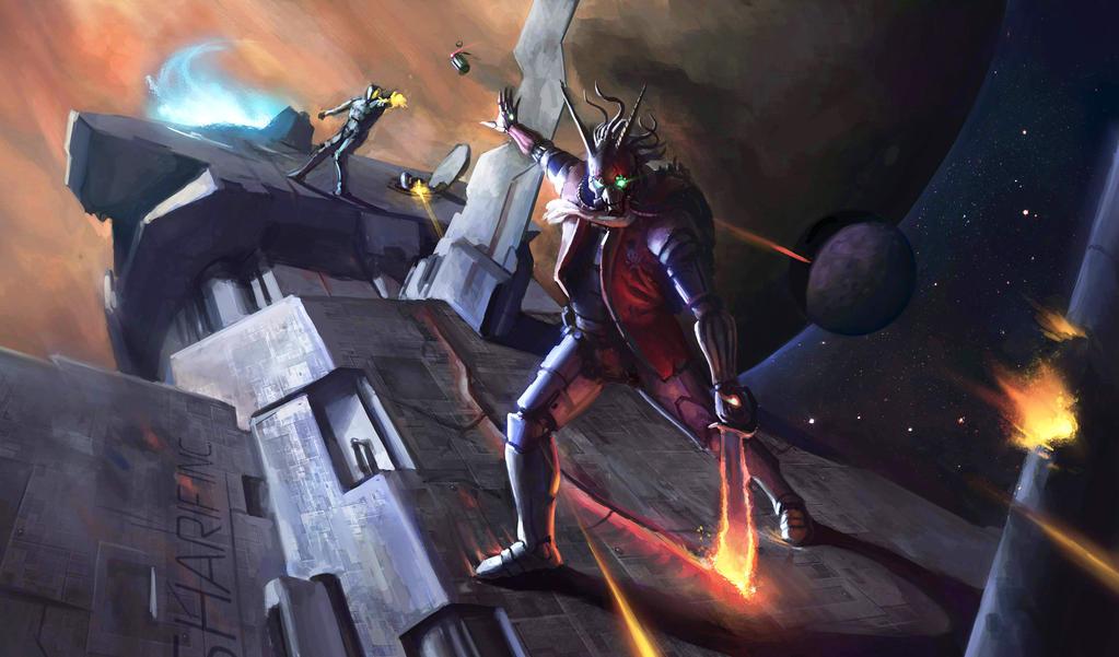 Space Devil by Defreeee