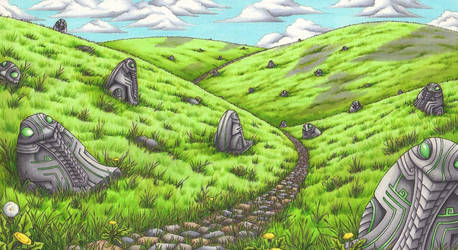 Highland of thousand Toads